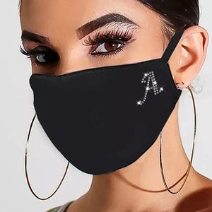NEW MASK / cute letter A /flexible metal nose wire